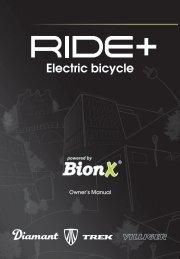 Electric bicycle - Trek Bicycle Corporation