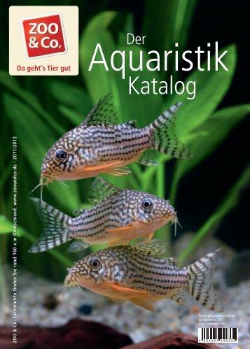 Aquaristik Katalog - ZOO & Co.