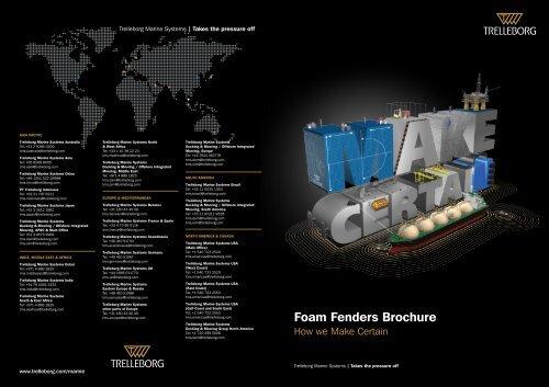 Foam Fenders Brochure - Trelleborg
