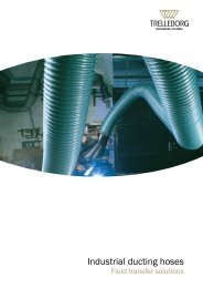 Industrial ducting hoses - Trelleborg