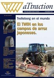 El TWIN en los campos de arroz japoneses. El TWIN en ... - Trelleborg