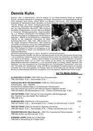 Dennis Kuhn - Tre Media Musikverlage