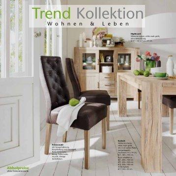 Wildeiche massiv - Trend-Collection - Wohnen und Leben mit ...