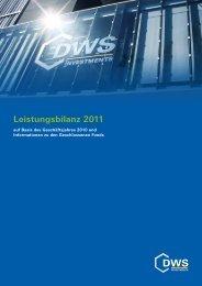 Leistungsbilanz 2011 - Leistungsbilanzportal