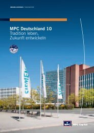 MPC Deutschland 10 Tradition leben, Zukunft ... - Trend-Invest.de