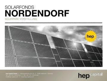 NORDENDORF - hep capital AG