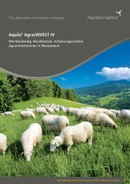 Aquila® AgrarINVEST IV - Trend-Invest.de