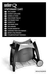 STATIONARY CART - Trend & Living GmbH