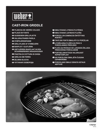 CAST-IRON GRIDDLE - Trend & Living GmbH