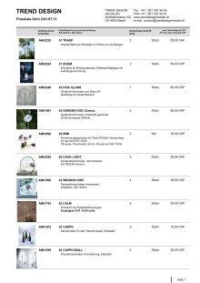 20 Free Magazines From Trenddesignhandel Ch