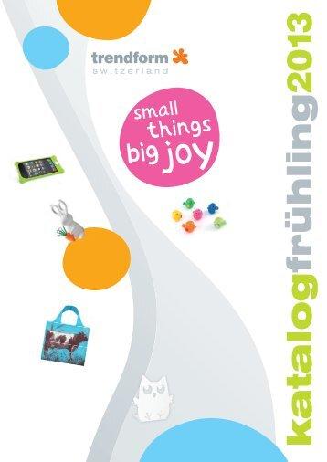PDF Katalog fruehling 2013 - Trendform