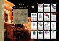 GESCHENKIDEEN Was Schenken? - Trend Magazin