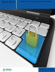 Global Cloud Security Software Market 2010–2014 - Trend Micro