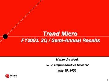 Presentation - Trend Micro