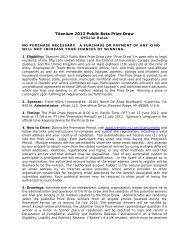 Titanti 2013 Public Beta Sweepstakes - Trend Micro