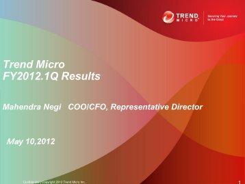 Presentation Title - Trend Micro