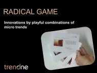 RADICAL GAME - TrendONE
