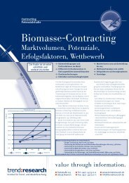 Biomasse-Contracting - trend:research