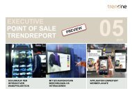 EXECUTIVE TRENDREPORT POINT OF SALE - TrendONE