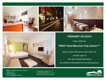 treff hotel munich city centre