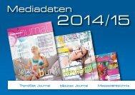 Mediadaten Journal und Katalog 2014/2015 - TrendSet