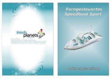 Ferngesteuertes Speedboot Sport - trendy planets