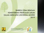 Sinergi STBM Dengan Kementerian Pekerjaan Umum dalam Mencapai Universal Access 2019