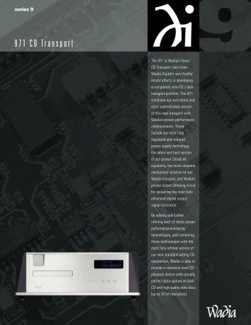 Wadia 971 Brochure