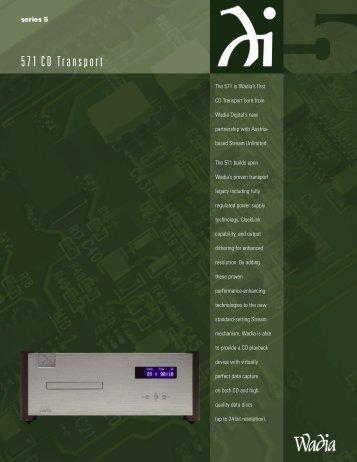 Wadia 571 Brochure