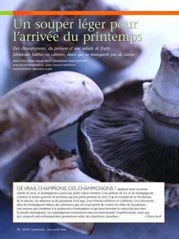 Voir le PDF - Canadian Health Magazine