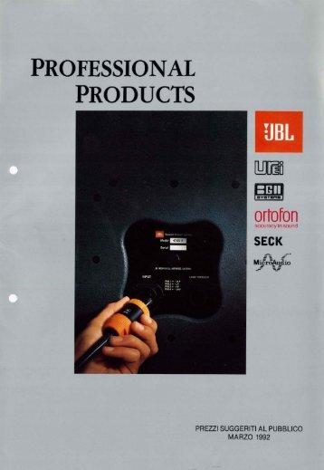 (JBL, Urei, BGW, Ortofon, MicroAudio, Seck).pdf