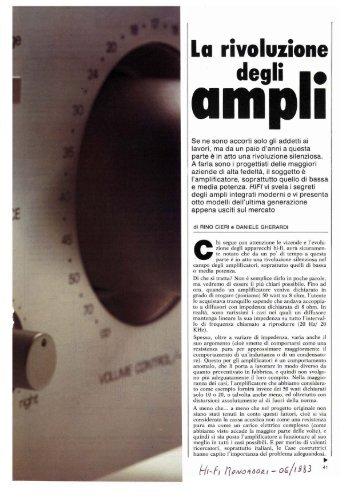 Amplificatori integrati Accuphase E301, Denon PMA770, Luxman ...