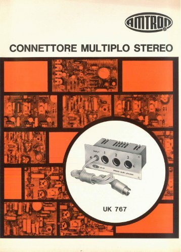 Amtron UK767 - Connettore multiplo stereo.pdf - Italy