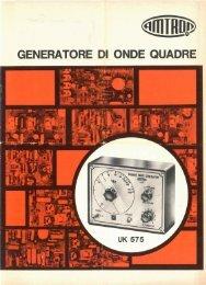 Amtron UK575 - Generatore di onde quadre.pdf - Italy
