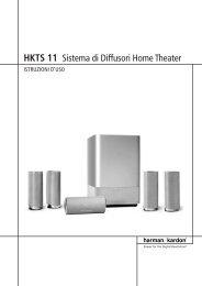 HKTS 11 Sistema di Diffusori Home Theater