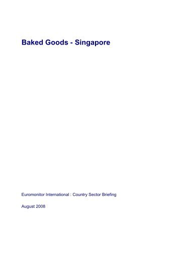 Baked Goods - Singapore