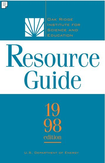 Resource Guide 98