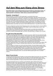 Testbericht aus Holland - deutsch - (pdf)
