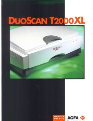 Agfa Duoscan T2000xl - Professional Marketing Services, Inc.