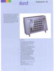 Durst Autocutter 32 - Professional Marketing Services, Inc.