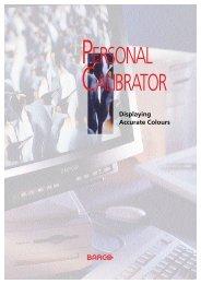 Barco Personal Calibrator - Professional Marketing Services, Inc.