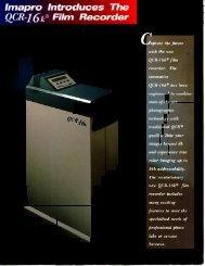 Imapro QCR 16K - Professional Marketing Services, Inc.