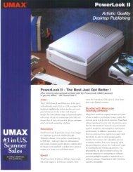 UMAX - Professional Marketing Services, Inc.
