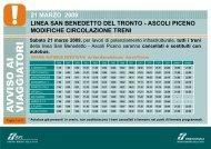 21 marzo 2009 linea san benedetto del tronto - ascoli ... - Trenitalia