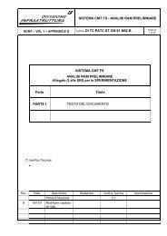 SISTEMA CMT FS - ANALISI RAM PRELIMINARE ... - Trenitalia