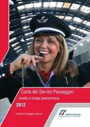Carta Servizi 2011 DPNI - Trenitalia