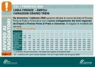 Locandina orario dei treni (.pdf 441 KB) - Trenitalia