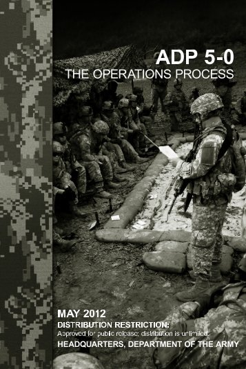 (ADP) 5-0, The Operations Process - Army Electronic Publications ...
