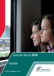 Carta dei Servizi 2010 Toscana - Trenitalia