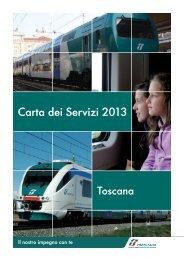 La carta dei servizi di Trenitalia